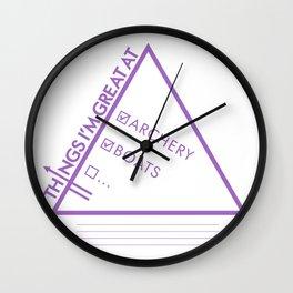 Hawkguy Wall Clock