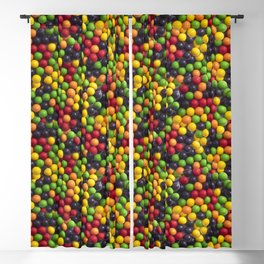 Jawbreaker Candy Photo Pattern Blackout Curtain