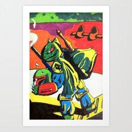 Bulba Fett Art Print