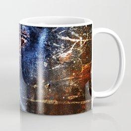 Cosmic Birds Abstract Coffee Mug