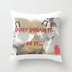 Rocky Horror - Don't Dream It... Throw Pillow