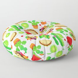 Fiesta Tacos Floor Pillow