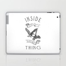 INSIDE ALL OF US IS A WILD THING Laptop & iPad Skin