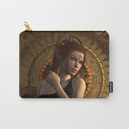 Steampunk, wonderful steampunk women Carry-All Pouch