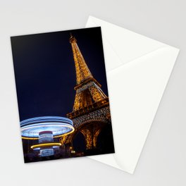 Eiffel Carousel Stationery Cards