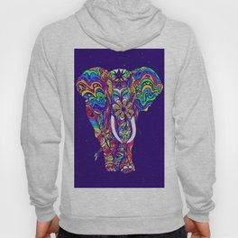 Not a circus elephant #violet by #Bizzartino Hoody