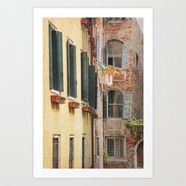 Clean Sheets, Venice Art Print
