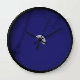 The Moon (Purple Moon Beams) - Jeronimo Rubio Photography 2016 (All Over) Wall Clock