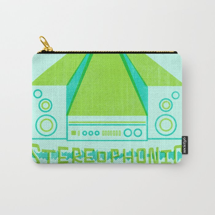 stereophonic Carry-All Pouch