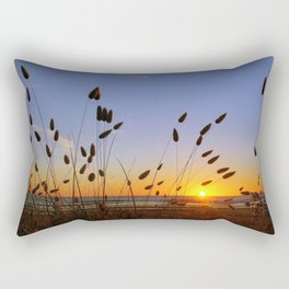 Beach sunrise of your dreams Rectangular Pillow