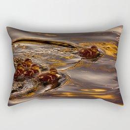 Baby ducklings Rectangular Pillow