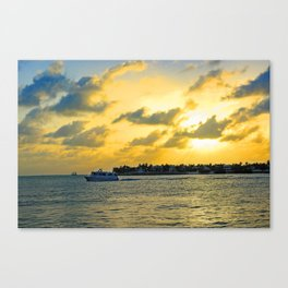 See you at Sunset! Canvas Print