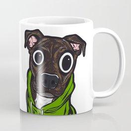 Pitbull Hoodie Coffee Mug