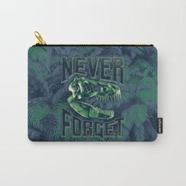 Never Forget T-Rex Carry-All Pouch
