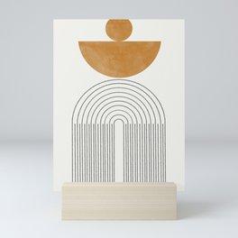 Geometric Modern Shape Study No2. Mini Art Print