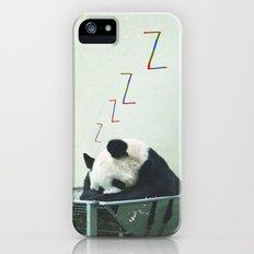 Sleepy Panda Slim Case iPhone (5, 5s)