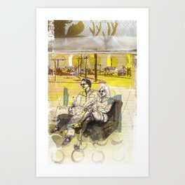 OUTSKIRT THRILLS Art Print