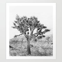 Joshua Tree Giant by CREYES Art Print