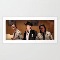 Interior Sheriff Art Print