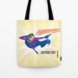 Captain CEO Tote Bag