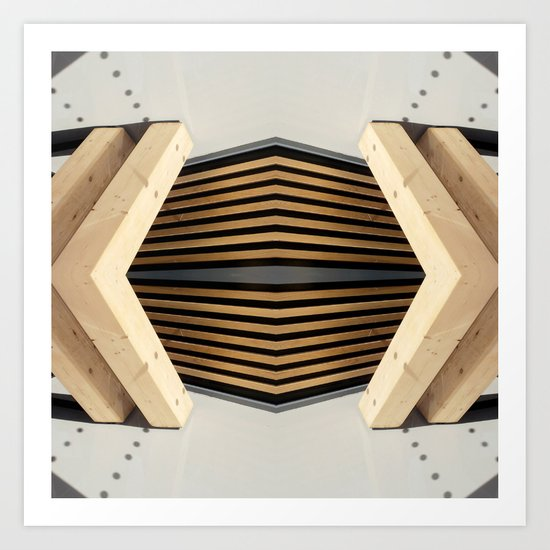 Architecture II Art Print