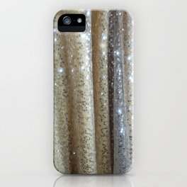 Champagne Glitters iPhone Case