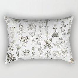 Drwaing Nature Rectangular Pillow