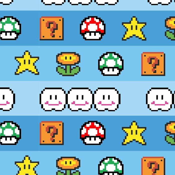 Pixel retro game Leggings