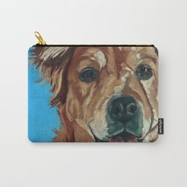 Cody the Golden Labrador Mix Dog Portrait Carry-All Pouch