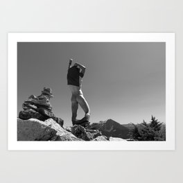 Mountain Freedom  Art Print