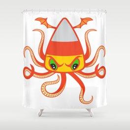 Candy Corn Cthulhu Shower Curtain