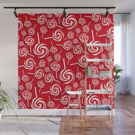 Candy Swirls-Large Wall Mural