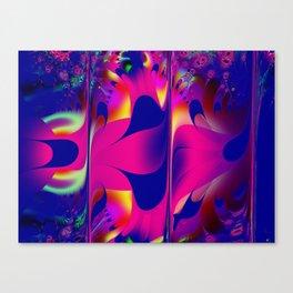 Fractal Triptych Canvas Print