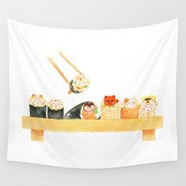 Maki Neko Wall Tapestry