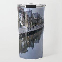 Vintage Color Photo * 1940's * Holland * Village * Kodachrome* 1950's Travel Mug