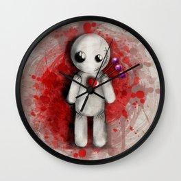 Halloween Theme [Voodoo Doll] Wall Clock