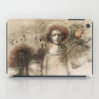 storm iPad Cases featuring Storm.  by Iris V.