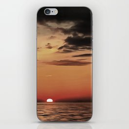 Autumn Evening Sundowner iPhone Skin