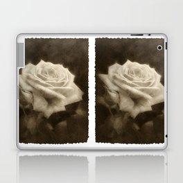 Pink Roses in Anzures 3 Antiqued Laptop & iPad Skin