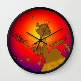 LaLes Wall Clock