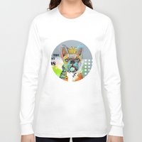dogs Long Sleeve T-shirts featuring Dogs... by zAcheR-fineT