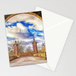 Magnificent Fantasy Castle Gates Moat Bridge Dreamland Ultra HD Stationery Cards