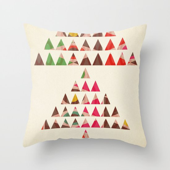 There Will Always Be Mountains To Climb Throw Pillow