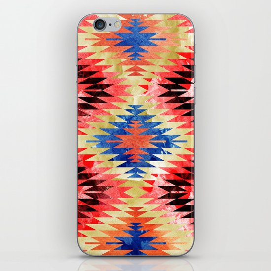 Painted Navajo Suns iPhone & iPod Skin
