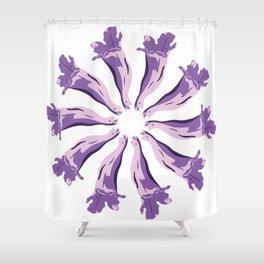 Jacaranda´s Flowers Shower Curtain