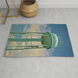 Tower And Clouds Rug