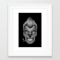 rockabilly Framed Art Prints featuring Rockabilly by Patrick Seymour