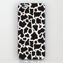 Cow pattern background iPhone Skin