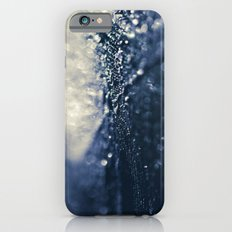 Peacock Macro Feather and Waterdrops iPhone 6s Slim Case