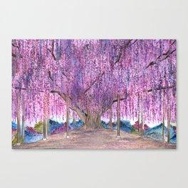 150+ Years Old Wisteria Tree – Sacred Tree Series Canvas Print